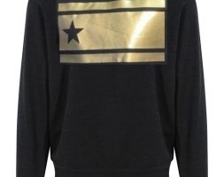SWEAT-SHIRT GOLD UNISEXE