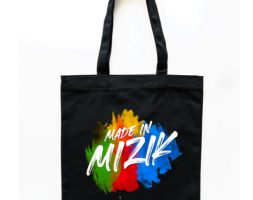 TOTEBAG MADE IN MIZIK Noir